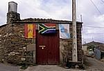 Jakobsweg (Camino Francés): Casa Banderas (Haus der Flaggen) - Vilachá