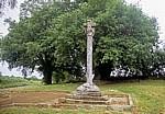 Jakobsweg (Camino Francés): Cruceiro de Lameiros (historisches Pilgerkreuz) - Ligonde