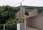 Jakobsweg (Camino a Fisterra): Hórreos (Getreidespeicher) - Finisterre