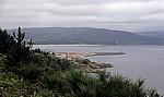 Jakobsweg (Camino a Fisterra): Blick auf Finisterre - Costa da Morte