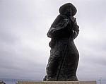 Jakobsweg (Camino a Fisterra): Pilgerstatue - Costa da Morte