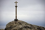 Jakobsweg (Camino a Fisterra): Pilgerkreuz - Kap Finisterre