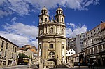 Jakobsweg (Caminho Português): Santuario de la Virgen de la Peregrina - Pontevedra