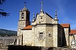 Jakobsweg (Caminho Português): Iglesia de Santa María de Caldas - Caldas de Reis