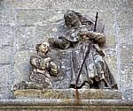 Jakobsweg (Caminho Português): Iglesia de Santiaguiño do Monte – Detail  - Padrón