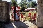 Jakobsweg (Caminho Português): Kleine Selbstbedienungsbar - A Rocha Vella