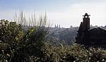 Jakobsweg (Camino a Fisterra): Blick auf Santiago de Compostela - Sarela do Baixo