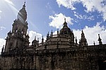Catedral de Santiago (Kathedrale): Ostseite - Santiago de Compostela