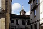 Altstadt: Gasse - Santiago de Compostela