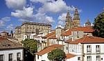 Altstadt: Blick auf die Catedral de Santiago de Compostela (Kathedrale)  - Santiago de Compostela