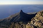 Blick vom Tafelberg: Lion's Head - Kapstadt