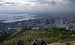 Blick vom Signal Hill auf die Innenstadt - Kapstadt