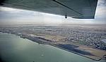 Flug über die Namib: Blick auf Walvis Bay - Walvis Bay