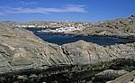 Blick von der Haifischinsel auf den Ort Lüderitz - Lüderitz