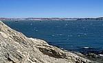 Blick von der Haifischinsel auf die Küste (nördlich von Lüderitz) - Lüderitz