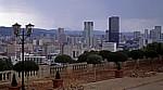 Blick von den Union Buildings auf die Skyline Pretorias - Pretoria
