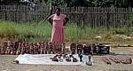Verkäuferin mit Masken (Informeller Sektor) - Mpumalanga
