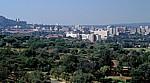 Blick von den National Zoological Gardens Richtung Osten - Pretoria
