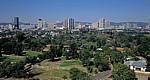 Blick von den National Zoological Gardens auf Pretoria Central - Pretoria