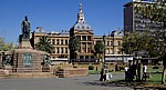 Church Square: Ou Raadsaal (Altes Parlament) - Pretoria