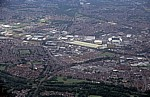 Flug Amsterdam – Liverpool: Blick auf Warrington - Warrington
