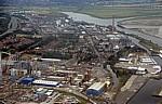 Flug Amsterdam – Liverpool: Weston Point - Runcorn