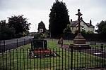 High Street / Town Lane: War Memorial (Kriegerdenkmal) - Hale