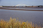Silver Jubilee Bridge über den River Mersey - Hale