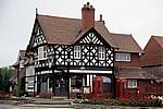 Greendale Road: Tudor Rose Tea Rooms (ehemalige Post) - Port Sunlight