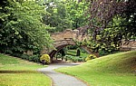 The Dell: Dell-Brücke - Port Sunlight