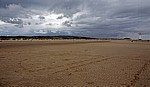 Blick über den Talacre Beach auf die Dünen - Talacre