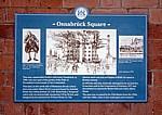 Osnabrück Square: Hinweistafel - Derby