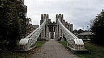 Conwy Suspension Bridge (Thomas Telford's Suspension Bridge, Hängebrücke) - Conwy