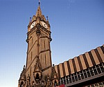 Haymarket Memorial Clock Tower (Uhrturm) - Leicester