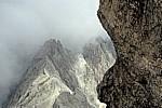 Blick vom Gipfel: Große Riffelwandspitze - Zugspitze
