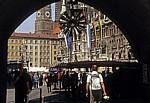 Blick vom Alten Rathaus zum Marienplatz - München