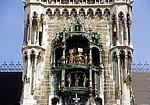 Neues Rathaus: Glockenspiel - München