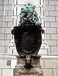 Münchner Residenz: Bronzener Löwe - München