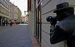 Laurinská: Kunstinstallation Paparazzi - Bratislava