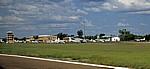 Flug Kwara - Maun: Blick auf Maun Airport - Maun