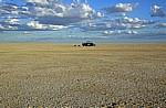 Ntwetwe Pan (Salzpfanne): Geländewagen - Makgadikgadi-Pfannen