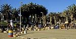 Am Zoll Street: Souvenir-Markt - Swakopmund