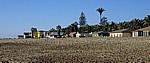 Strand mit Häusern (Arnold Schad Promenade) - Swakopmund