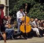 King's Parade: Straßenmusiker - Cambridge