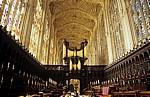King's College Chapel: Chor und Orgel - Cambridge