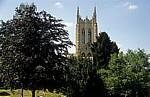 St Edmundsbury Cathedral (Kathedrale): Millennium Tower (Turm) - Bury St Edmunds