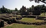 Ruinen der Bury St Edmunds Abbey (Abtei) - Bury St Edmunds