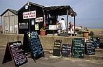 Fischerhütte: Verkauf von frischem Fisch - Aldeburgh