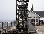 Southwold Pier Water Clock (Wasseruhr): Detail - Southwold