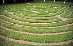 Wing's turf maze (Rasenlabyrinth) - Wing